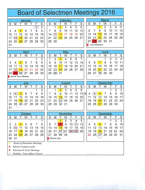 2016-BoS calendar with meeting dates