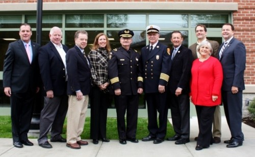 public safety building opening