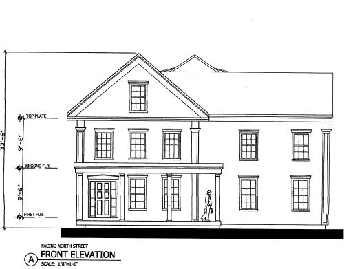 71 North Street plans