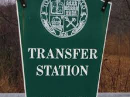 Transfer Station sign