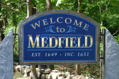 Medfield sign