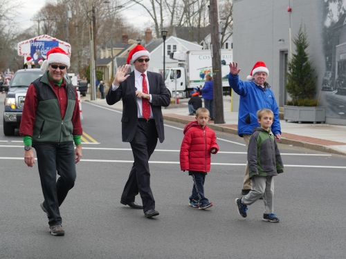 20171202-Holiday Parade-selectmen