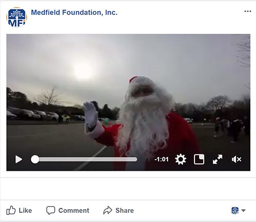 angel run 2017 santa video