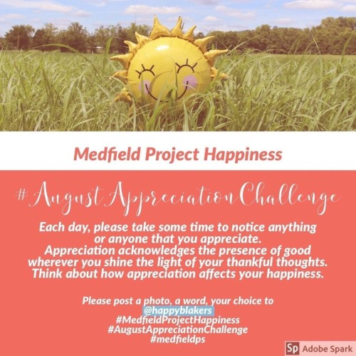 daily happiness challenge august
