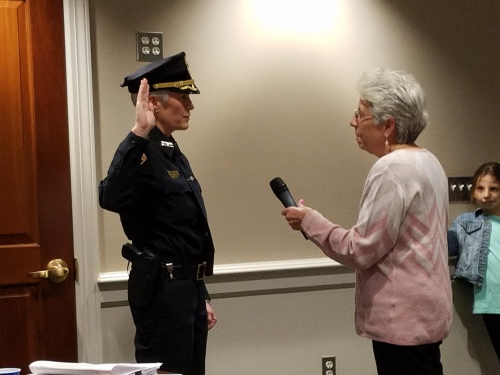 Chief Guerette-swearing in-20190528-2