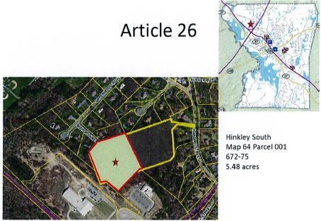 Hinkley RFP map