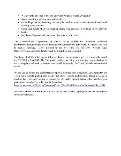 20200312-KT-Medfield COVID-19 Memo to Public_Page_2