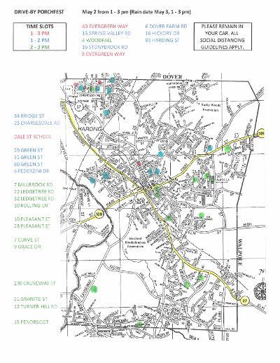 PF map
